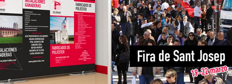 Presentamos nuestra nueva imagen en la Fira de Sant Josep.