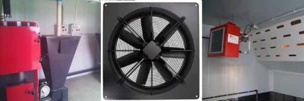 Sistemes de calefacció granges